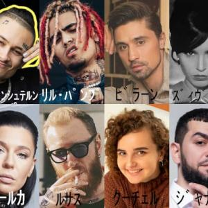 Russia Airplay Chart10 in TOPHIT.RU - '20年12月号
