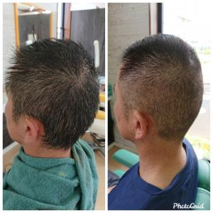 短髪のヘナ染めのやり方