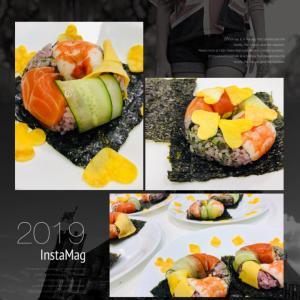 黒米で簡単リング寿司