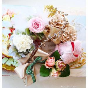 Preserved flower Lesson②  ~Atelier myumyu~