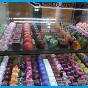 芸術的な美しいチョコレートの店(CDMX)