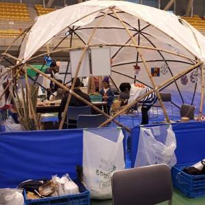 スタードームテント 竹で遊ぼう 魚津 有磯ドーム