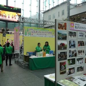 とやまの元気ボランティアNPOフェスティバル 活動発表 バンブー屋台