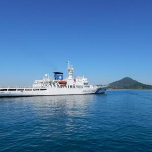 海上保安庁の練習船「みうら」