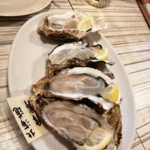 牡蠣を食べに行ったのに