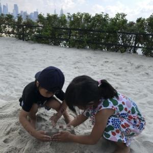 砂浜公園!