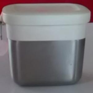 ステンレス製の保存容器、KEYUCA(ケユカ)トワイロシール キャニスター