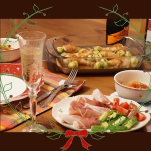 クリスマスっぽいディナー