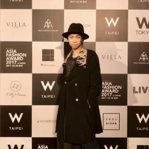 Asia Fashion Award参加