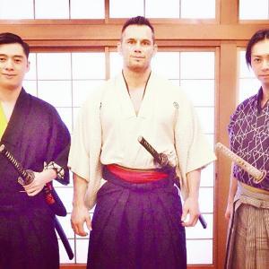 世界総合格闘技チャンピオンが剣術体験に