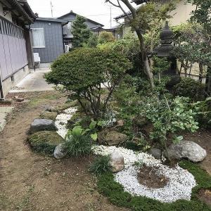 庭作り36日本庭園編⑬・・上流部をいじる。