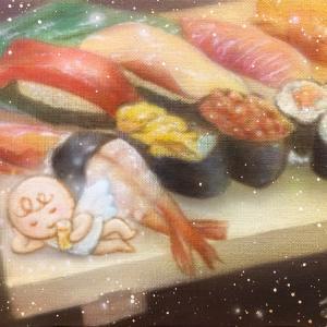 ●エアブラシアート  天使の休息 ビール編