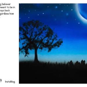 ●生徒さんの作品「夜空」