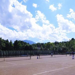 梅雨明け間近の軽井沢高原