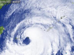 いつまで台風の目