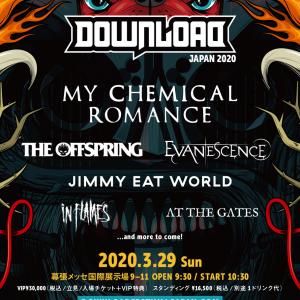 DOWNLOAD FESTIVAL JAPAN 2020 第1弾ラインナップ発表!!