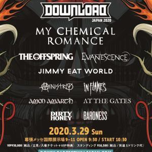 DOWNLOAD FESTIVAL JAPAN 2020 追加ラインナップ発表!!