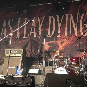 """AS I LAY DYING """"Shaped By Fire Asia Tour 2020"""" @ LEGACY台北 1/22 感想"""