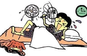何とかして~なぁ! ・・・ 熱帯夜の快眠法
