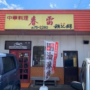 小鹿野 中華料理 春雷