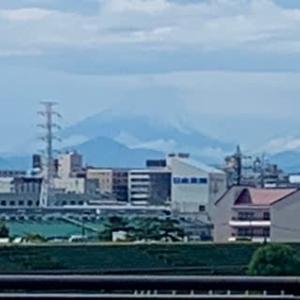 戸田橋から富士山
