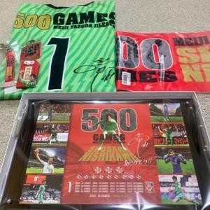 西川周作 J1リーグ通算500試合出場達成!記念グッズ