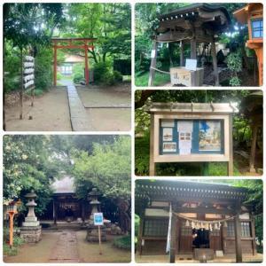 鶴ヶ島 白髭神社と満福寺