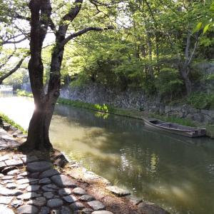 パワースポット第11弾「近江八幡城の堀」