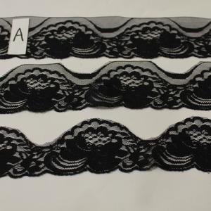 カットで3パターン使えるラッセルレース黒のご紹介