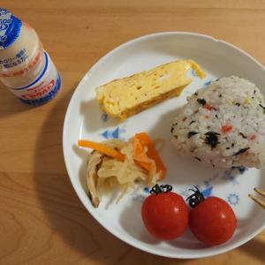 小1の朝ご飯