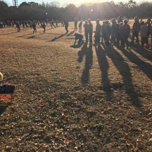 年の瀬マラソンの次の日ー所沢走学校練習会