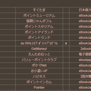 「eBookJapan」利用が通帳に反映しない件