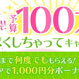 アメフリ(i2iポイント) 総額100万円分のポイントプレゼントキャンペーン
