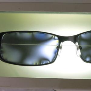 偏光レンズの歪み