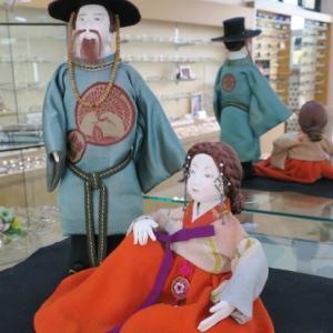 人形作家 大田登美枝さんの人形展示 令和2年10月