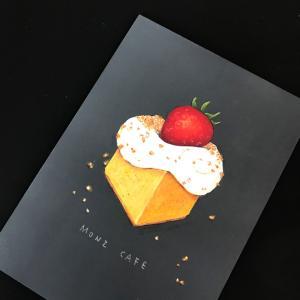 ●カフェのベイクドチーズケーキ*