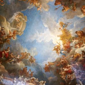 ベルサイユ宮殿-6 天井画