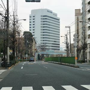 東京 中原街道旗の台 昭和大学病院近くの風景