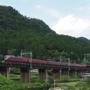近鉄大阪線の特急撮影