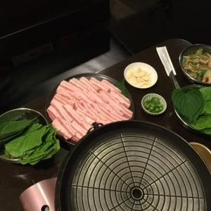食事会(韓国料理編)