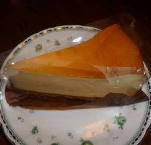 スタバのチーズケーキ!床掃除でスッキリ!