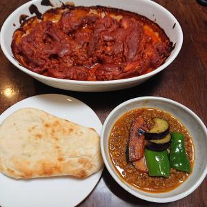 主人が作ったインド料理!