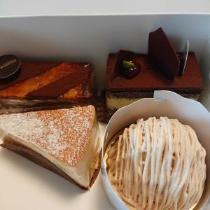 長女が買ってきたケーキ!