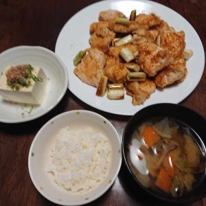 きのうの晩御飯!