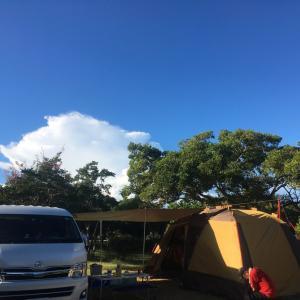 赤穂のキャンプ