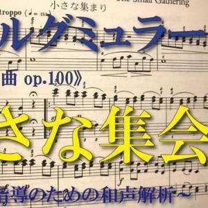 【解析動画】ブルグミュラー〈小さな集まり〉《25の練習曲op.100》より【弾き方・和声解析(完結)】