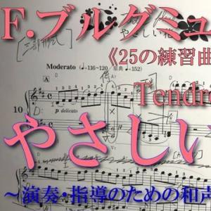 【解析動画】ブルグミュラー〈10番 やさしい花 Tendre fleur〉《25の練習曲op.100》より【弾き方・和声解析(完結)】