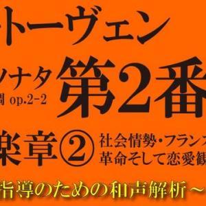 【楽曲和声解析】ベートーヴェン《ピアノソナタ 第2番 A-Dur op.2-2》〈第4楽章〉②【目次(時間指定)付き】