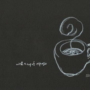 一杯の至福 コーヒー