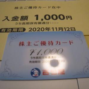 西松屋より株主優待到着!!